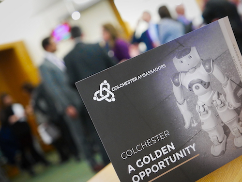 Colchester's business leaders become town's ambassadors
